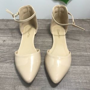 DREAM PAIRS Flapointed Ballet Comfort Soft Slip